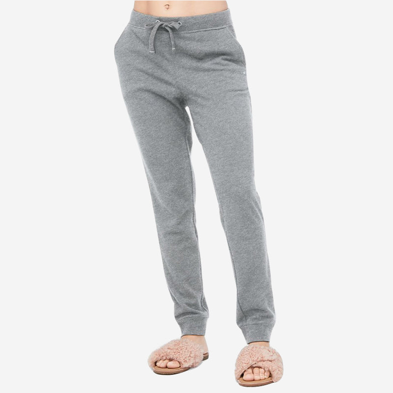 UGG Women's French Terry Babe Jogger - Heather Grey