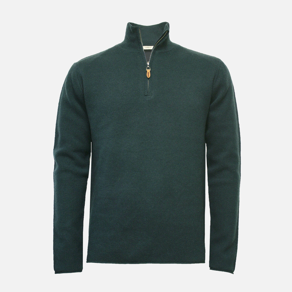 Hommard Orion Quarter Zip Sweater - Scuba
