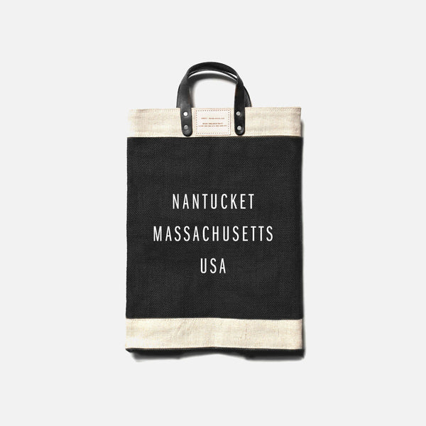 Apolis Nantucket Market Bag - Black