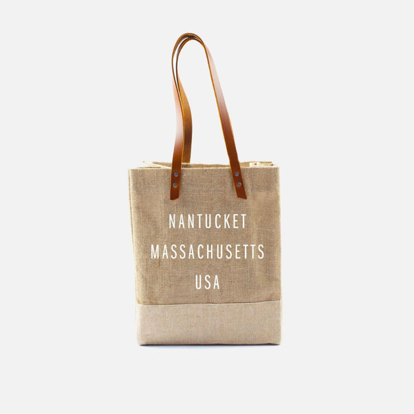 Apolis Nantucket Wine Tote