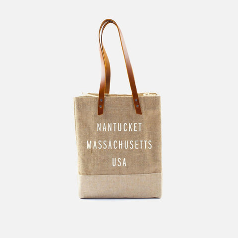Apolis Standard Nantucket Wine Tote