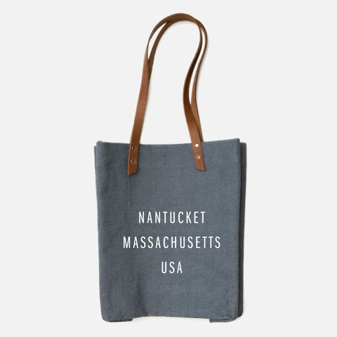 Apolis Standard Nantucket Tote - Charcoal
