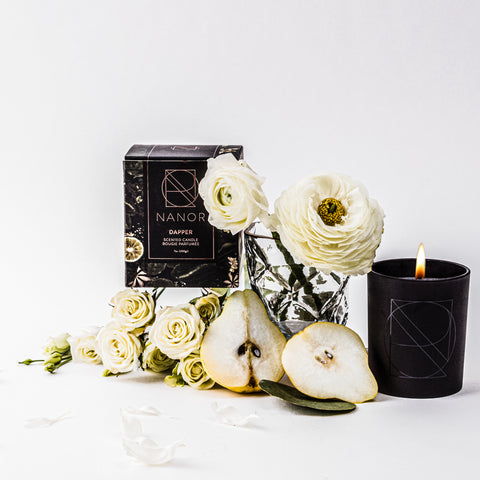 natural soy wax scented candle