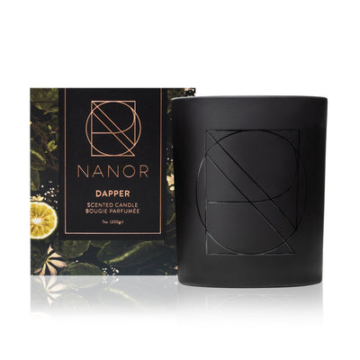 DAPPER Scented Candle - 7oz Candles Nanor
