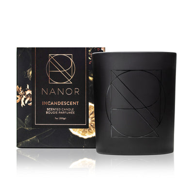INCANDESCENT Scented Candle - 7oz Candles Nanor
