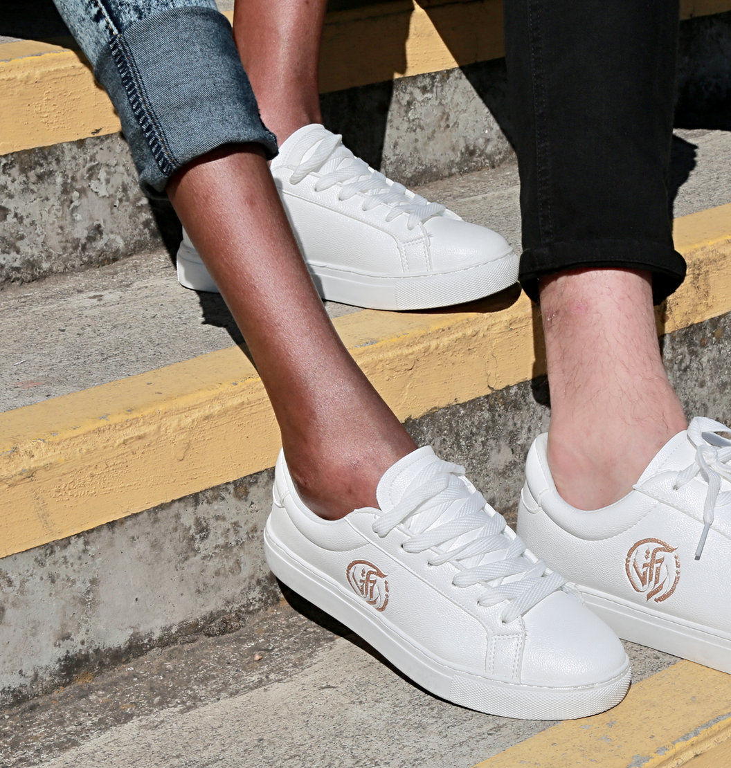 WHITE Signature COMPASSION Sneaker by VFL