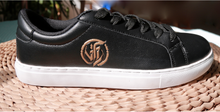 Black on White Compassion sneaker by VFL