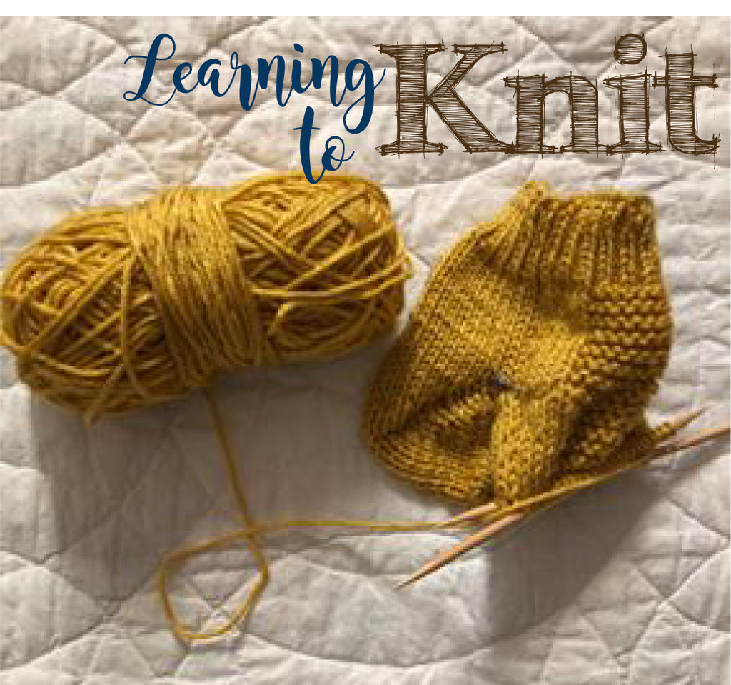 Creative Goals for 2020: Knitting (check)