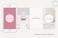 The Olivia-Rose Instagram Story Canva Templates