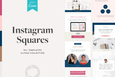 The Alyssa Instagram Squares Canva Templates
