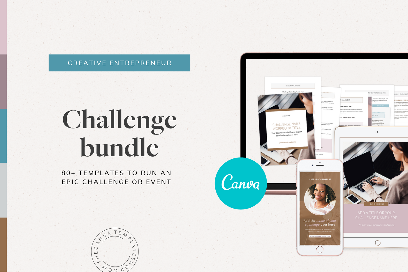 The Eva Challenge Bundle Canva Templates