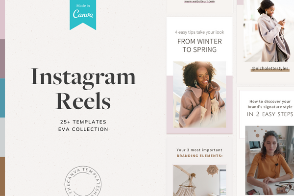 The Eva Instagram Reels Canva Templates