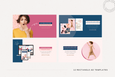 The Alyssa Social Media Ads Canva Templates