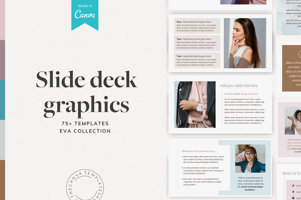 The Eva Slide Deck Canva Templates