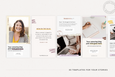 The Melanie Instagram Squares + Stories Canva Templates