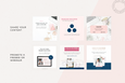 The Alyssa Canva Instagram Squares Templates