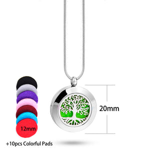 Locket Pendant for Aromatherapy