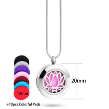 Load image into Gallery viewer, Locket Pendant for Aromatherapy