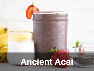 Ancient Acai Smoothie Recipe Pitaya Foods