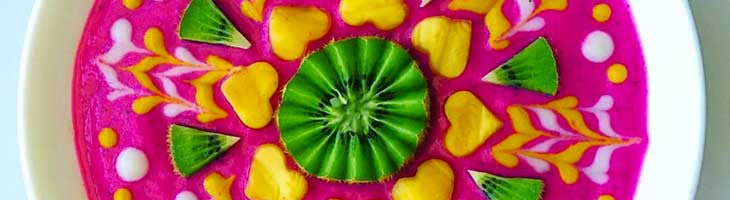 Cantaloupe Dragon Bowl Pitaya Plus Recipe