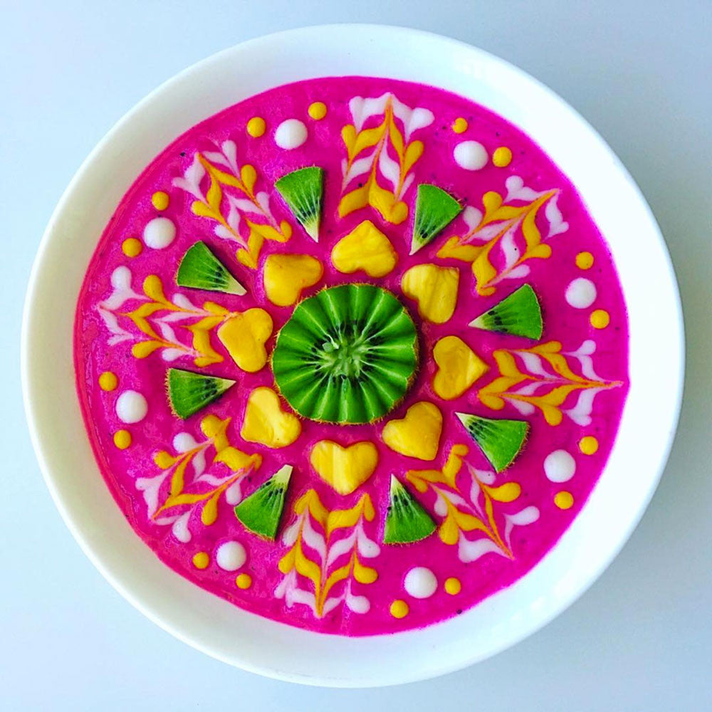 Cantaloupe Dragon Bowl Recipe Pitaya Plus