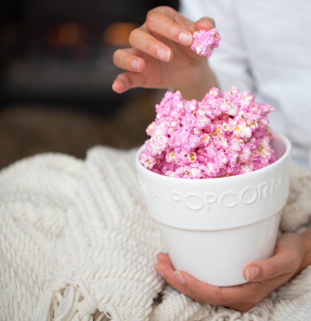 Dragon Fruit Marshmallow Popcorn Recipe Pitaya Plus