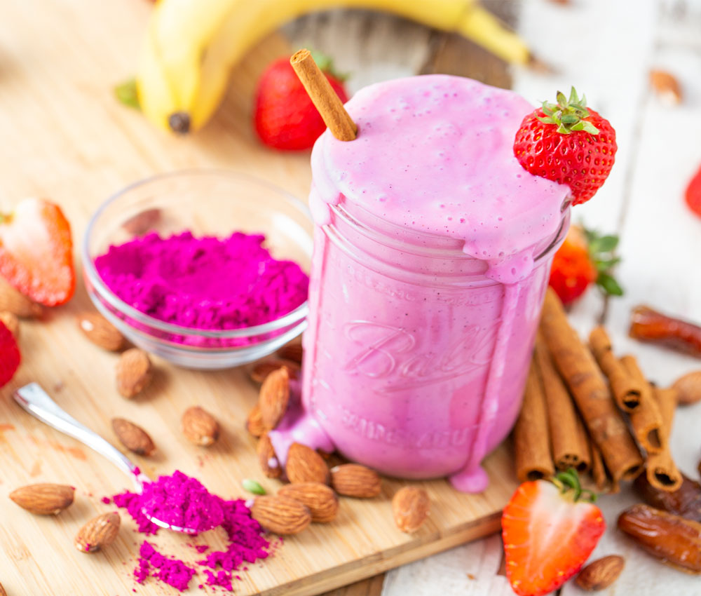 Dragon Smoothie Pitaya Plus Dragon Fruit Powder Recipe