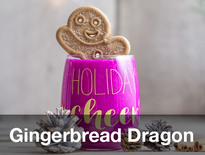 Gingerbread Dragon Smoothie