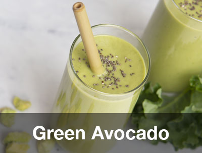PITAYA FOODS GREEN AVOCADO SMOOTHIE