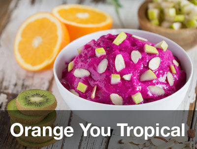 Orange You Tropical Pitaya Recipe