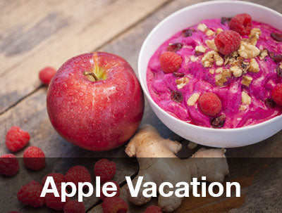 Pitaya Plus Apple Vacation Bowl