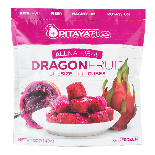 Pitaya Plus Dragon Fruit Cubes IQF