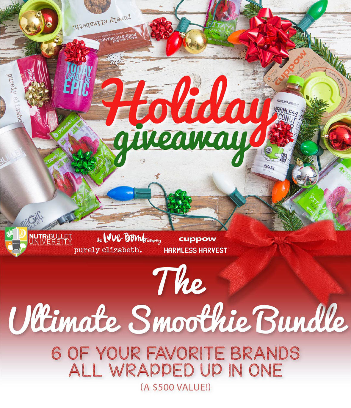 Pitaya Plus Holiday Giveaway