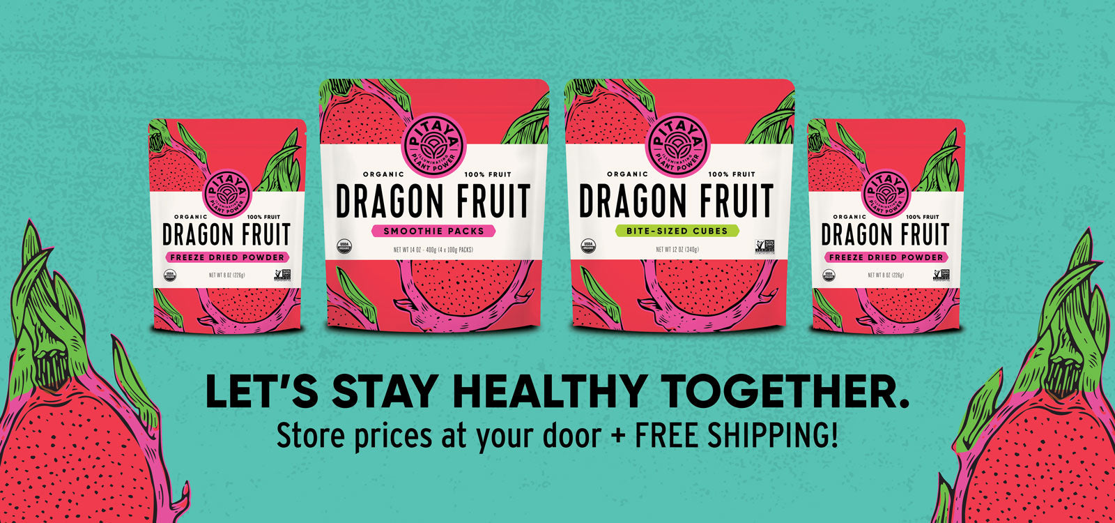 Dragon Fruit Products by Pitaya Foods