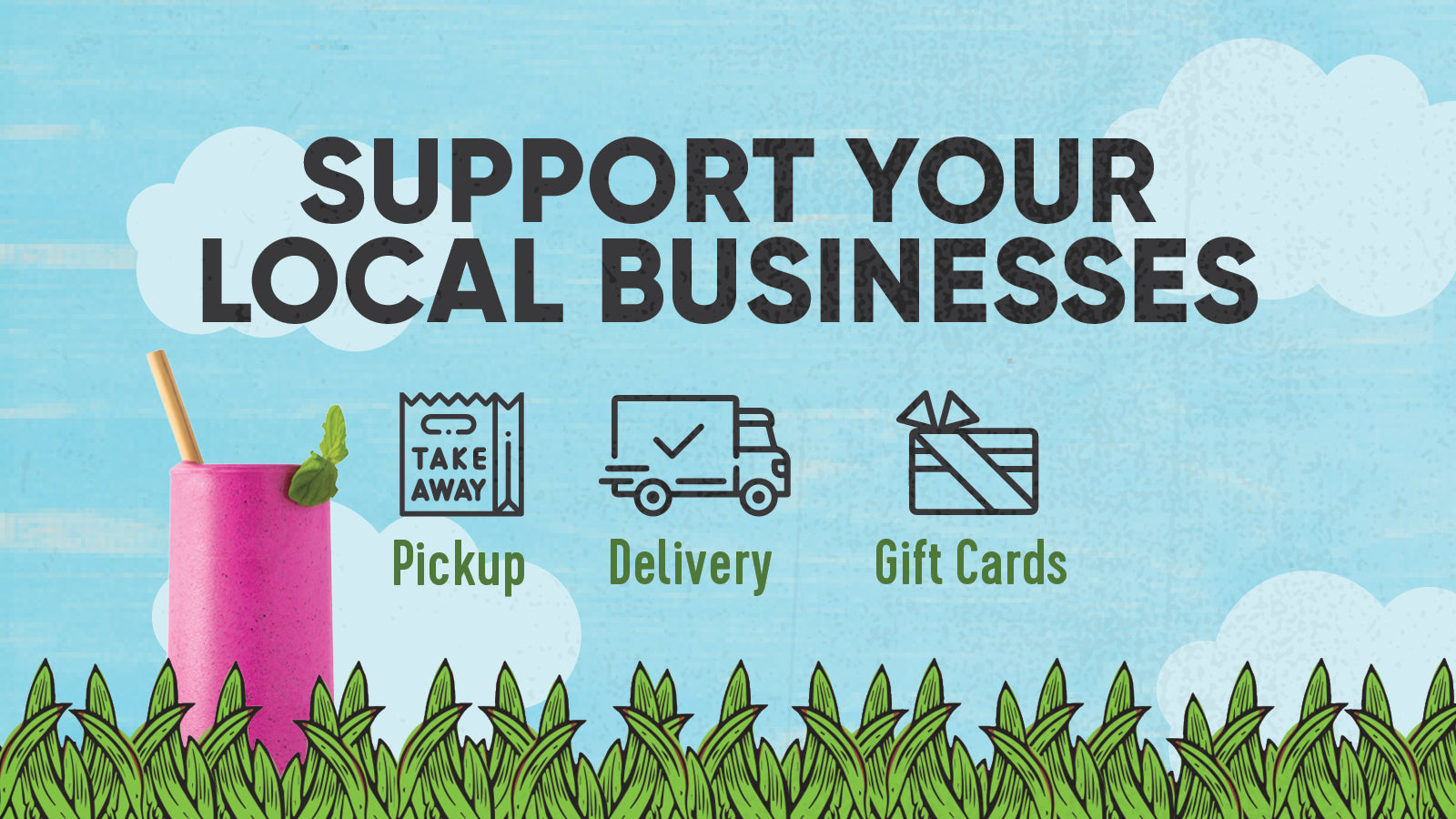 Support Your Local Businesses - Pitaya Foods