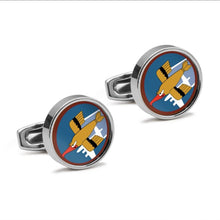 Load image into Gallery viewer, 91st BG Cufflinks - I Love a Hangar