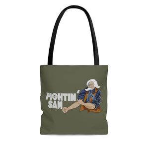 "B-24 ""Fightin' Sam"" Inspired Tote Bag - I Love a Hangar"