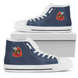 "VFA-113 ""Stingers"" Inspired Women's High Top Canvas Shoes - I Love a Hangar"