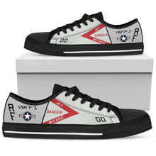 Load image into Gallery viewer, RF-4B Phantom VMFP-3 Inspired Men's Low Top Canvas Shoes - I Love a Hangar