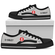 Load image into Gallery viewer, Lee Lue RLAF T-28D Inspired Men's Low Top Canvas Shoes - I Love a Hangar