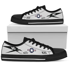 "Load image into Gallery viewer, VF-96 ""Fighting Falcons"" Inspired Women's Low Top Canvas Shoes - I Love a Hangar"