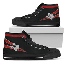 Load image into Gallery viewer, VF-201 Hunters Inspired Women's High Top Canvas Shoes - I Love a Hangar