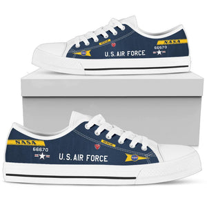 X-15 (56-6670) Inspired Men's Low Top Canvas Shoes - I Love a Hangar