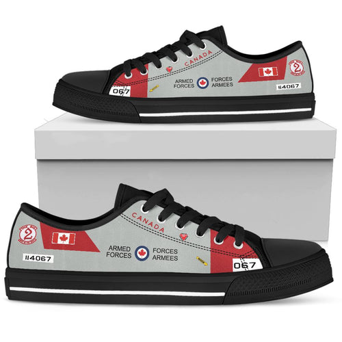 RCAF CT-114 Tutor Inspired Men's Low Top Canvas Shoes