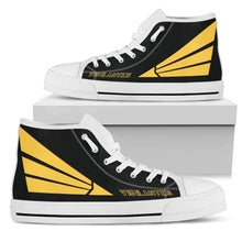 "Load image into Gallery viewer, VFA-151 'Vigilantes""  Inspired Men's High Top Canvas Shoes - I Love a Hangar"