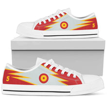 Load image into Gallery viewer, Casa C-101 Patrulla Ãguila Inspired Men's Low Top Canvas Shoes - I Love a Hangar
