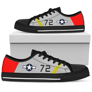 Tuskegee Airman Inspired Women's Canvas Shoes - I Love a Hangar