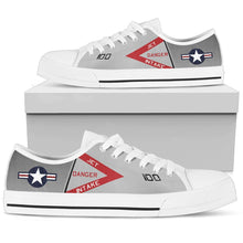 "Load image into Gallery viewer, F-4J ""Showtime 100"" Inspired Men's Low Top Canvas Shoes - I Love a Hangar"