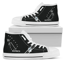 "Load image into Gallery viewer, VMA-214 ""Black Sheep"" Inspired Women's High Top Canvas Shoes - I Love a Hangar"