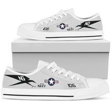 "Load image into Gallery viewer, VF-96 ""Fighting Falcons"" Inspired Men's Low Top Canvas Shoes - I Love a Hangar"